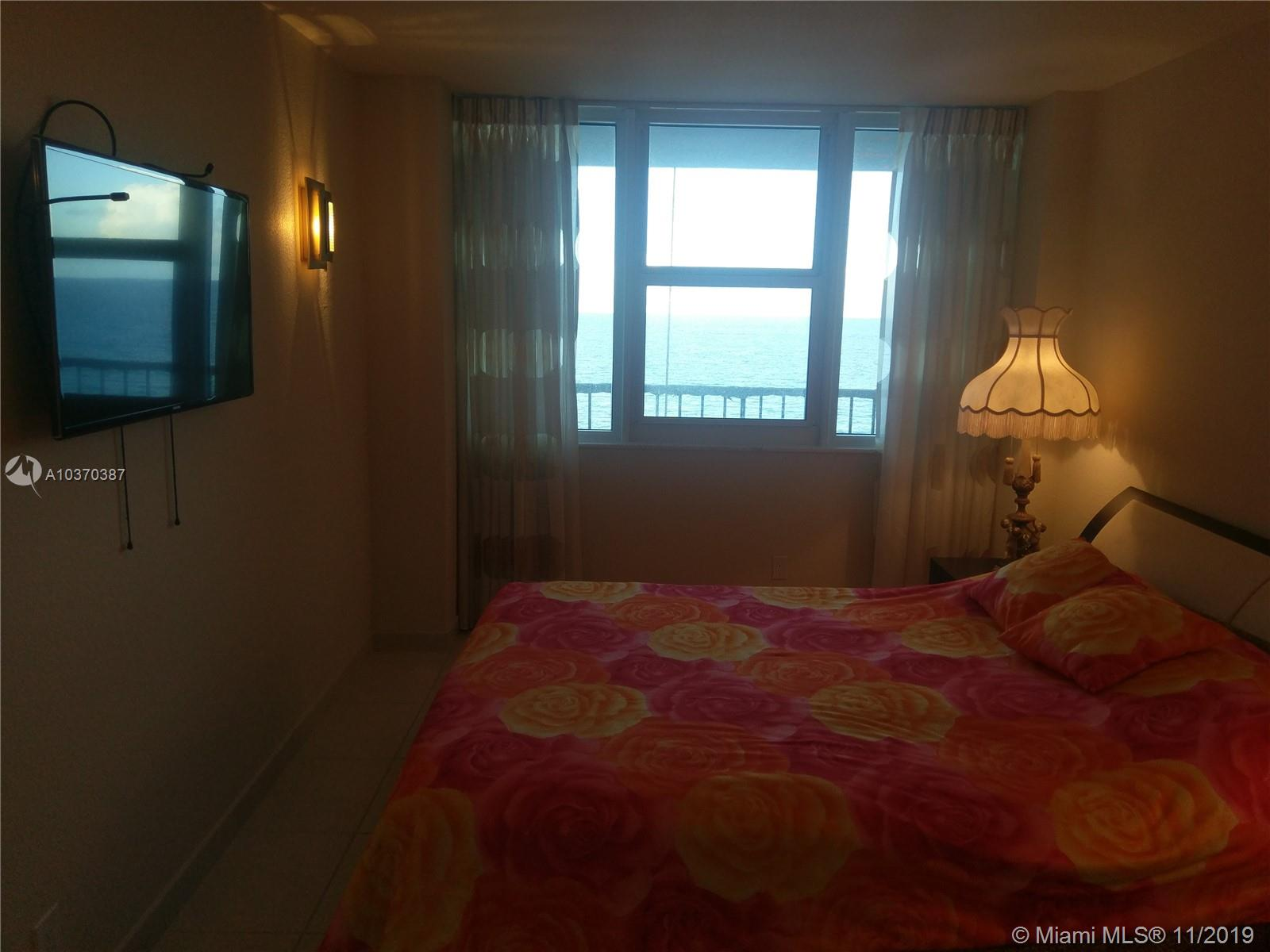 Photo of 2030 Ocean Dr #716, Hallandale, Florida, 33009 - MASTER BEDROOM SUITE WITH DIRECT OCEAN VIEWS