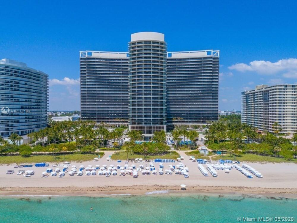 Photo of 9705 COLLINS AVE #903, Bal Harbour, Florida, 33154 - East view of the buildings