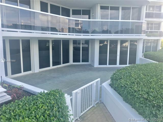 Photo of 16711 Collins Ave #604, Sunny Isles Beach, Florida, 33160 - Private Terrace - large enough for private parties and BBQ .  Guests can utilize the restrooms located by swimming pool to ease the burden of hosting a large gathering