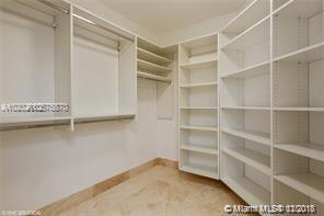 Photo of 8925 COLLINS AVE #9B, Surfside, Florida, 33154 - Master Bedroom Closet