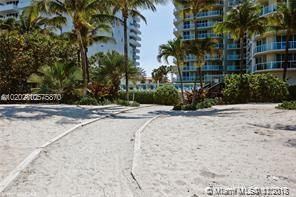 Photo of 8925 COLLINS AVE #9B, Surfside, Florida, 33154 - Tropical Walking Path From The Beach To Building