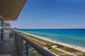 Photo of 8925 COLLINS AVE #9B, Surfside, Florida, 33154 - Wrap-Around Balcony - North View
