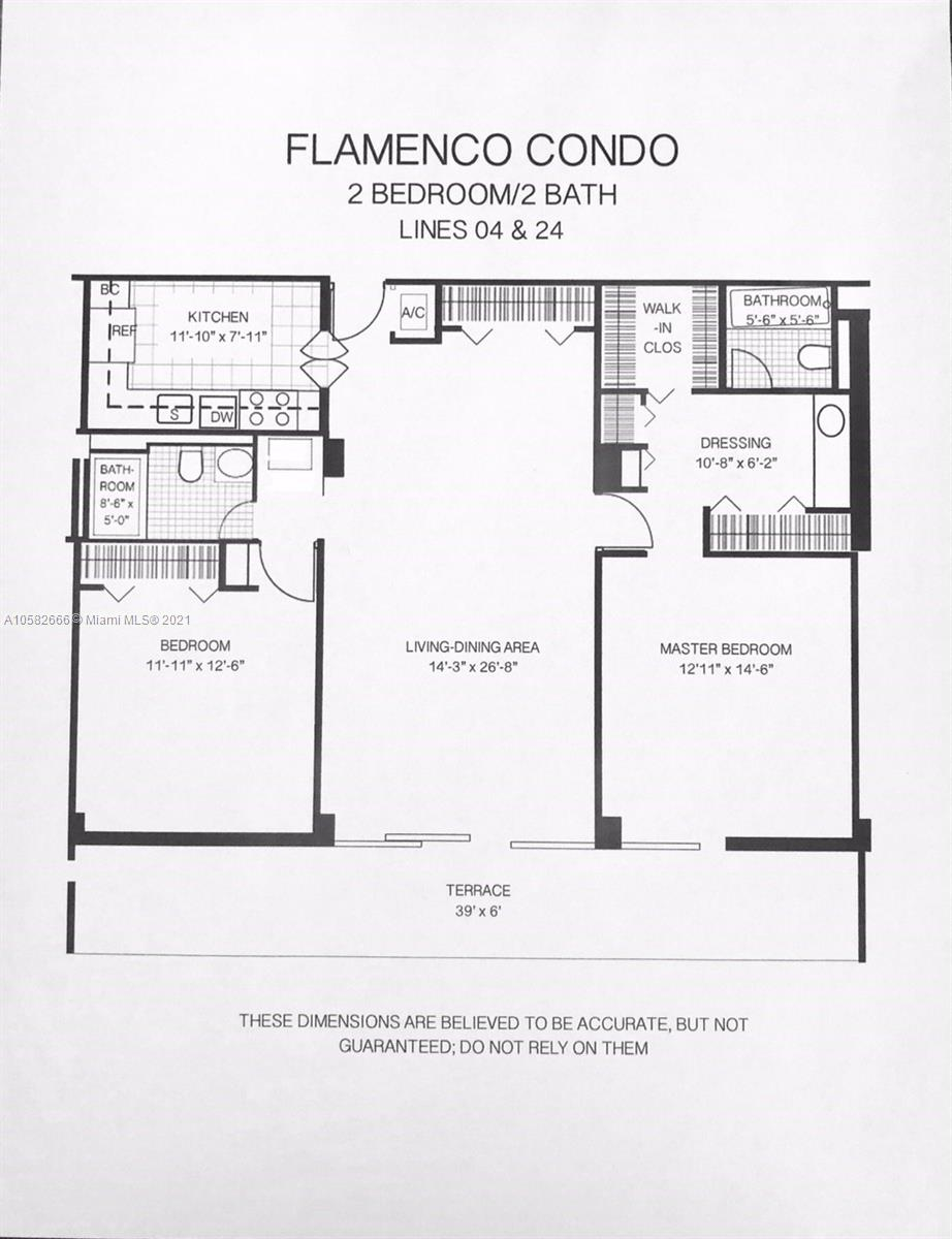 Photo of 3731 Country Club Dr #1824, Aventura, Florida, 33180 - Building layout