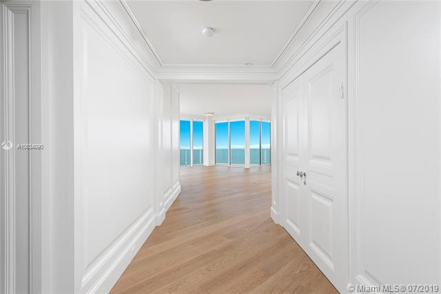 Photo of 10225 Collins Ave #901, Bal Harbour, Florida, 33154 - Entrance from private elevator and foyer. Regal double doors on the right lead to private the grand master suite.
