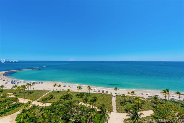 Photo of 10225 Collins Ave #901, Bal Harbour, Florida, 33154 - Unobstructed panoramic views of the Atlantic Ocean and Intracoastal Inlet.