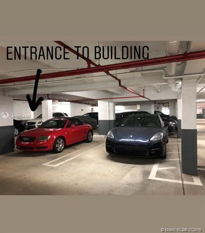 Photo of 10225 Collins Ave #901, Bal Harbour, Florida, 33154 - Side-by-side parking spaces 39 & 40 located a few feet from entrance to building.