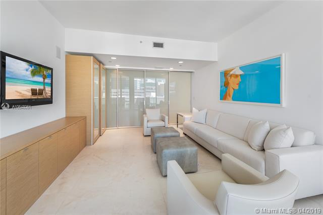 Photo of 10225 Collins Ave #1103, Bal Harbour, Florida, 33154 - Convertible third bedroom/family room with sliding privacy doors closed.