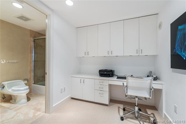 Photo of 10225 Collins Ave #1103, Bal Harbour, Florida, 33154 - Custom office and fourth bathroom.