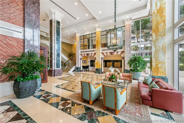 Photo of 10225 Collins Ave #1103, Bal Harbour, Florida, 33154 - Lobby - to be renovated in 2019.