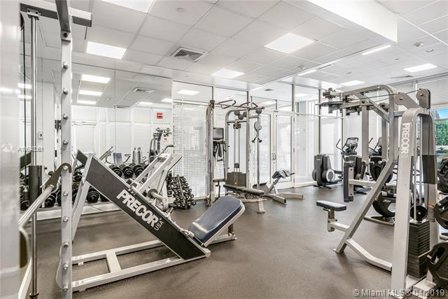 Photo of 10225 Collins Ave #1103, Bal Harbour, Florida, 33154 - State-of-the-art gym facility.