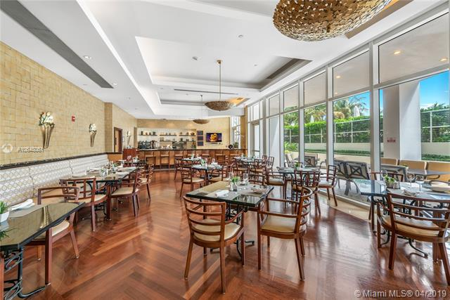 Photo of 10225 Collins Ave #1103, Bal Harbour, Florida, 33154 - Full-service pool-side restaurant.