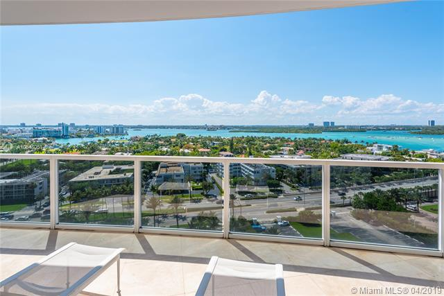 Photo of 10225 Collins Ave #1103, Bal Harbour, Florida, 33154 - Northwest views of Intracoastal Waterway, Haulover Sandbar and city from large wraparound terrace.
