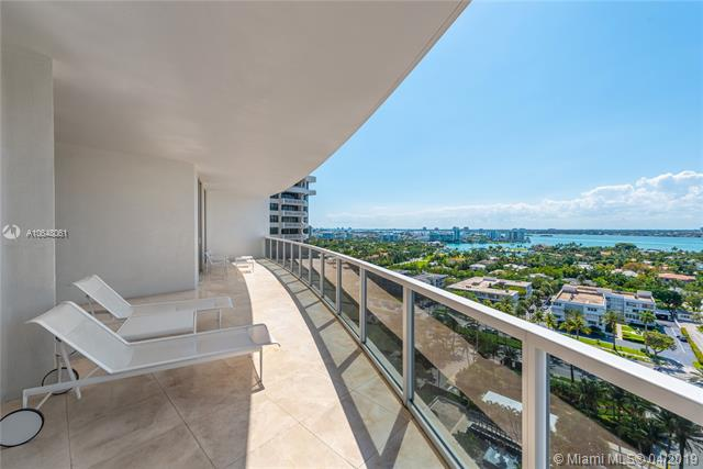 Photo of 10225 Collins Ave #1103, Bal Harbour, Florida, 33154 - Southwest views from the large wraparound terrace.