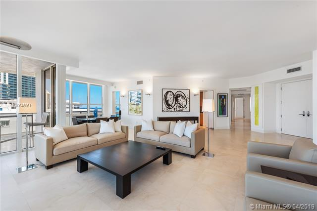 Photo of 10225 Collins Ave #1103, Bal Harbour, Florida, 33154 - Grand living room and dining area.