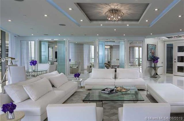 Photo of 9703 Collins Ave #1800, Bal Harbour, Florida, 33154 - ELEGANT LIVING ROOM