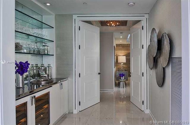 Photo of 9703 Collins Ave #1800, Bal Harbour, Florida, 33154 - BUTLER'S PANTRY w/WET BAR