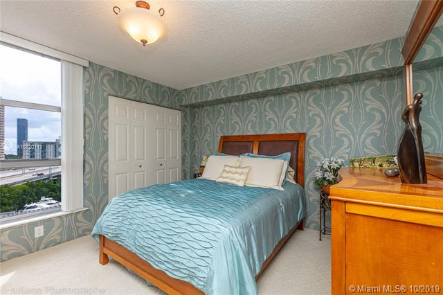 Photo of 3500 Mystic Pointe Dr #1205, Aventura, Florida, 33180 - Beautifully Decorated Bedroom. Furniture is available for sale