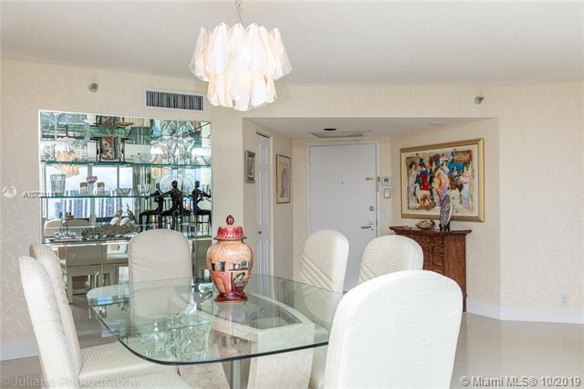 Photo of 3500 Mystic Pointe Dr #1205, Aventura, Florida, 33180 - Mirrored Built-in Wet Bar