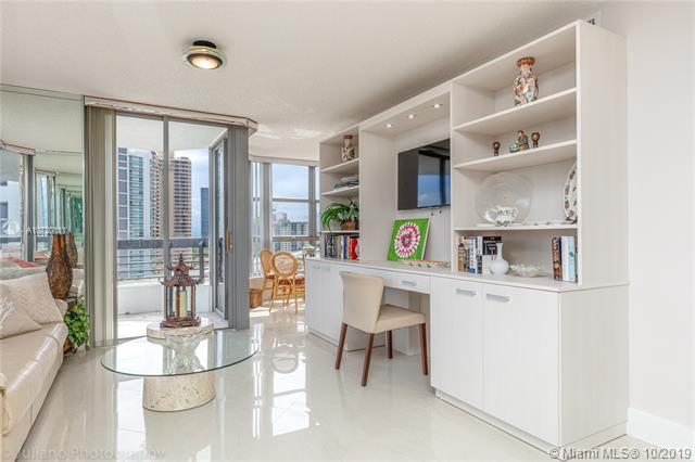 Photo of 3500 Mystic Pointe Dr #1205, Aventura, Florida, 33180 - Built-in Unit including TV in the Den