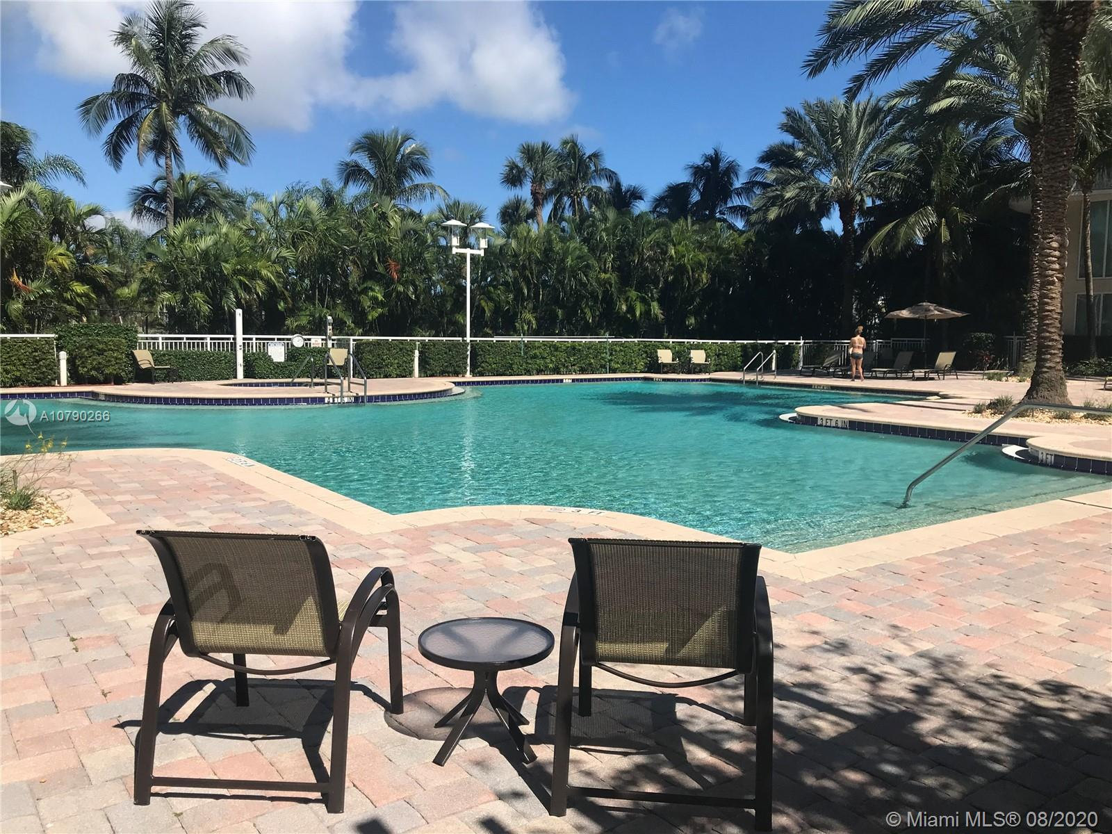 Photo of 1745 Hallandale Beach Blvd #201W, Hallandale, Florida, 33009 - POOL SHADED SITTING AREA