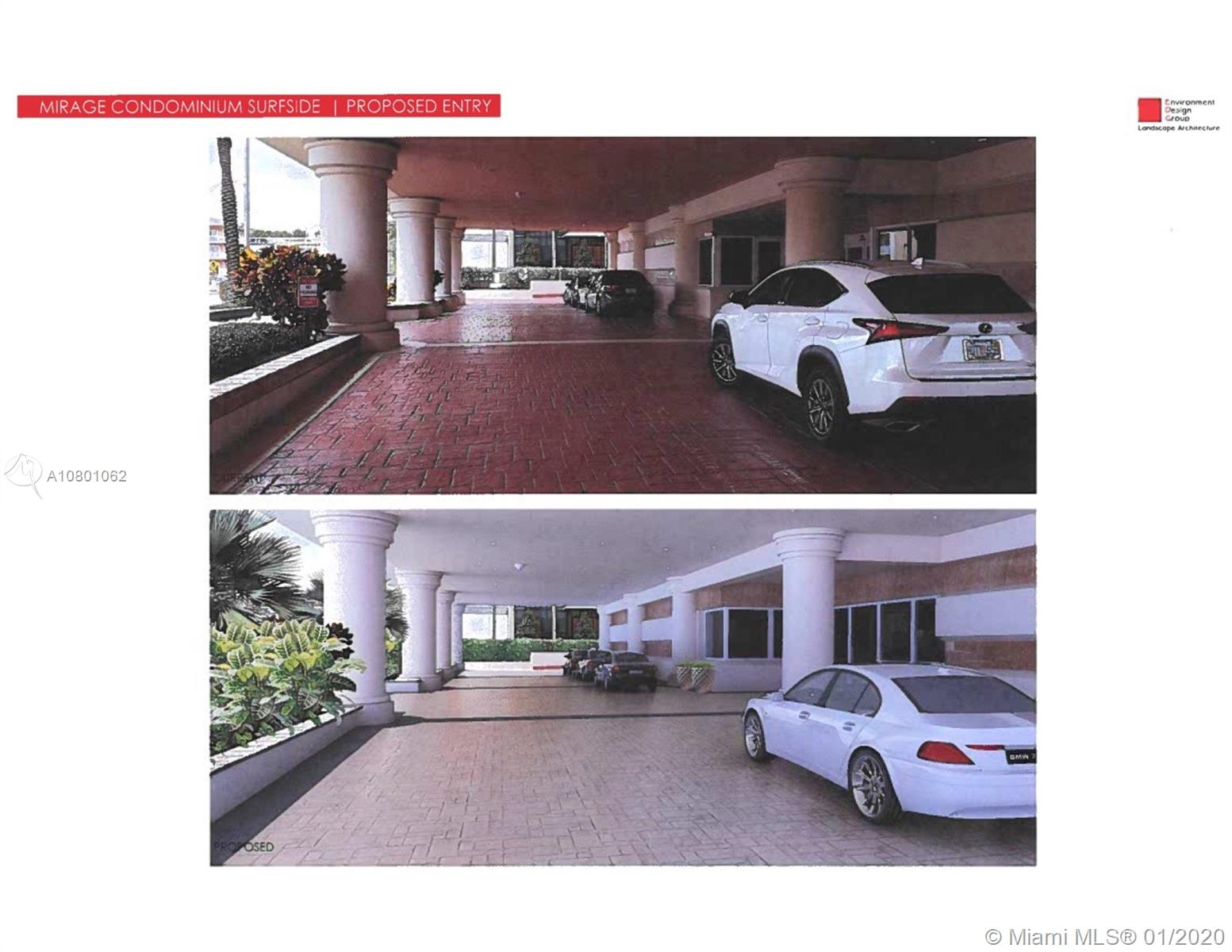 Photo of 8925 Collins Ave #4E, Surfside, Florida, 33154 - part of the assessment: new driveway