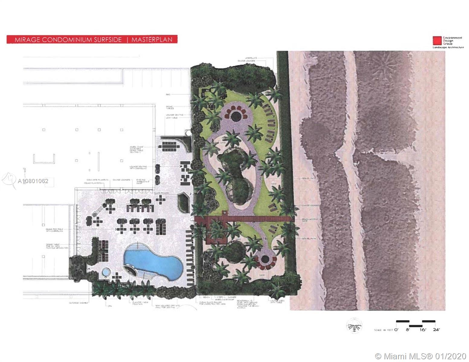 Photo of 8925 Collins Ave #4E, Surfside, Florida, 33154 - part of the assessment: exterior master plan