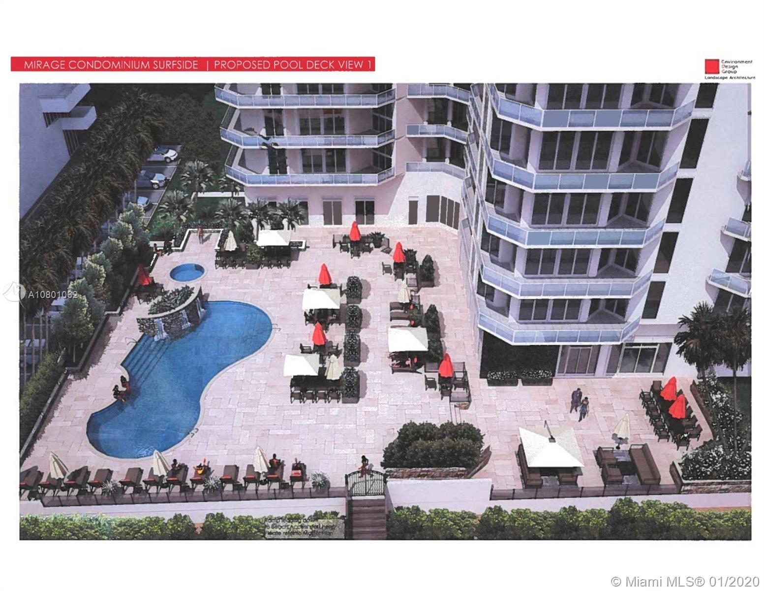 Photo of 8925 Collins Ave #4E, Surfside, Florida, 33154 - part of the assessment: new pool