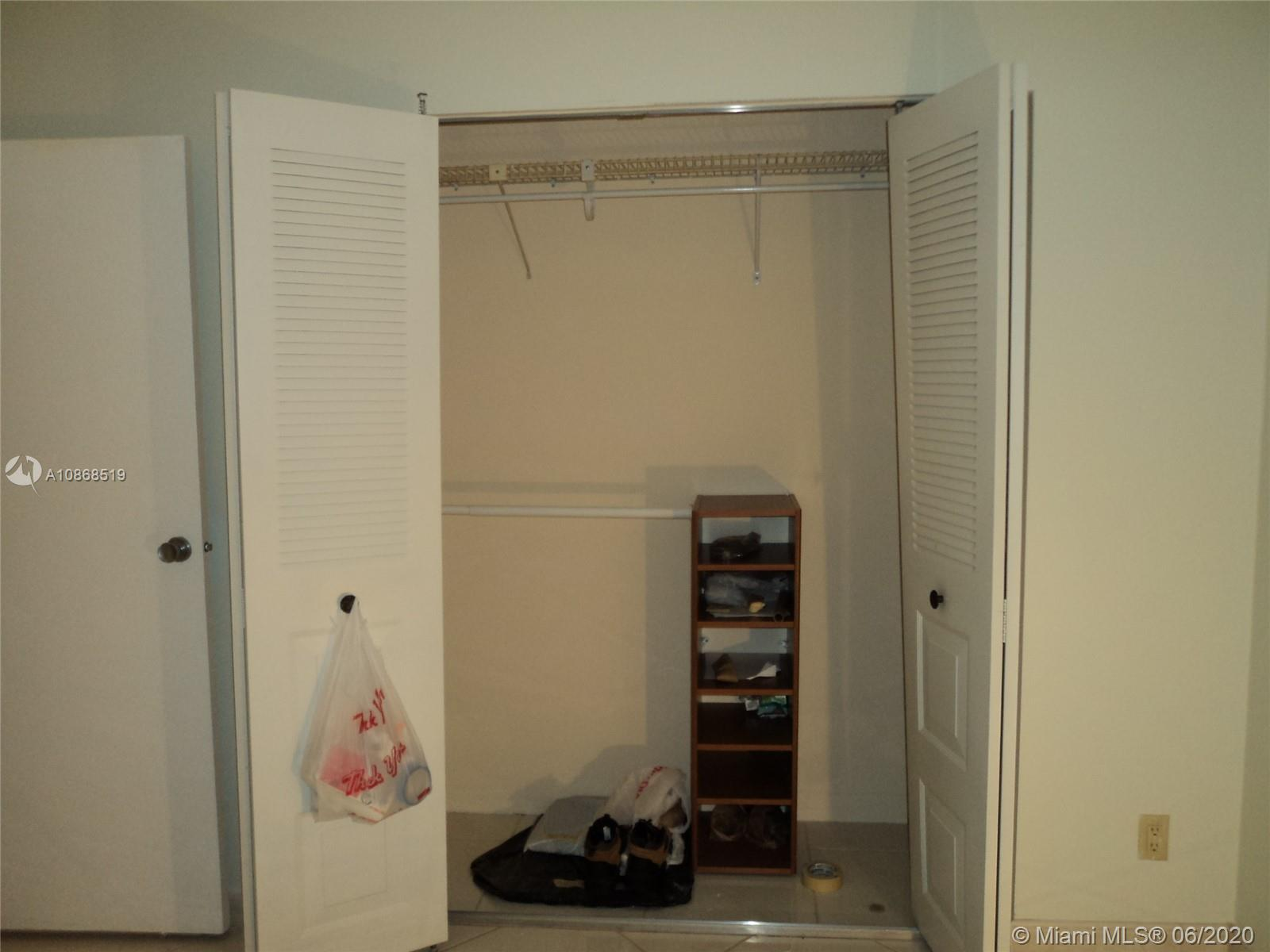 Photo of 20301 Country Club Dr #623, Aventura, Florida, 33180 - Second large closet in master BR.