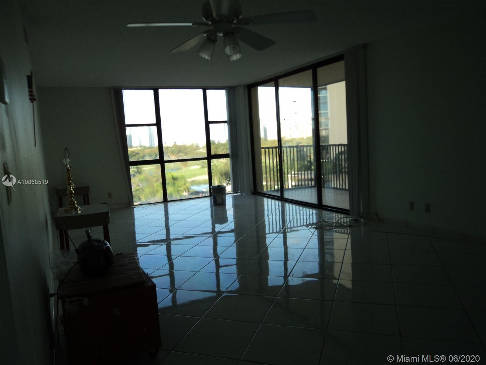 Photo of 20301 Country Club Dr #623, Aventura, Florida, 33180 - Largest Living Room in the Complex