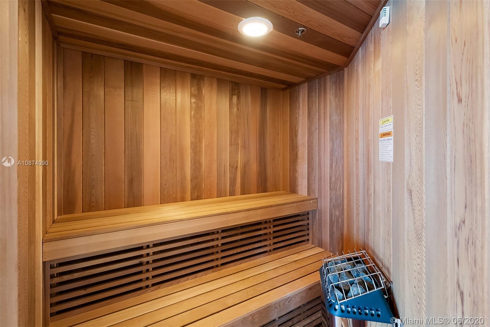 Photo of 6051 Ocean Dr #PH5, Hollywood, Florida, 33019 - Private sauna in master bath