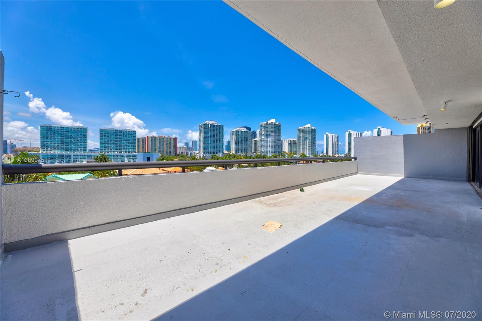 Photo of 425 Poinciana Island Drive #1444, Sunny Isles Beach, Florida, 33160 - Second / guest / office en suite shower with luxury waterfall shower head with rain massage system shower panel
