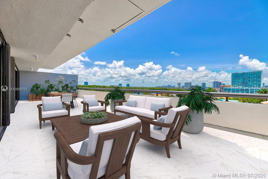 Photo of 425 Poinciana Island Drive #1444, Sunny Isles Beach, Florida, 33160 - Comfortable sized second room for guest bed room or office with en suite bathroom and generous closet