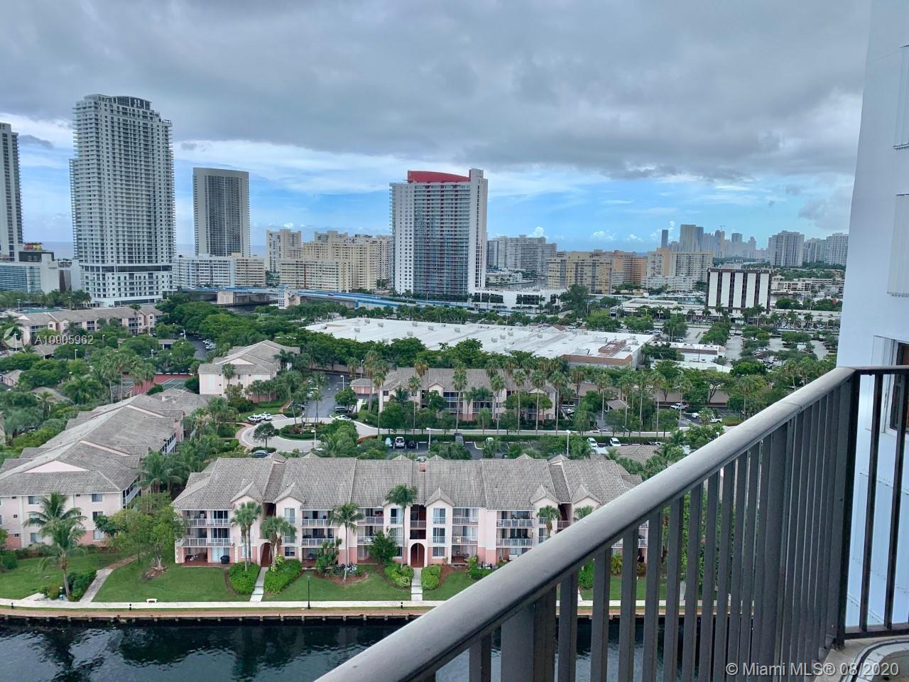 Photo of 300 Three Islands Blvd #618, Hallandale Beach, Florida, 33009 - BALCONY VIEW!