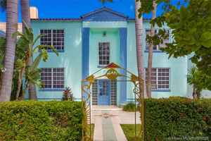 1 990 000$ - Miami-Dade County,Miami Beach; 7000 sq. ft.