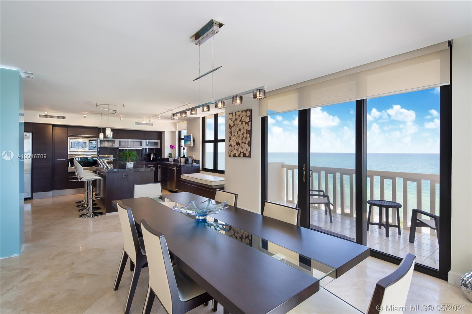 Photo of 9801 Collins Ave #11B Direct Ocean, Bal Harbour, Florida, 33154 - Dinning room