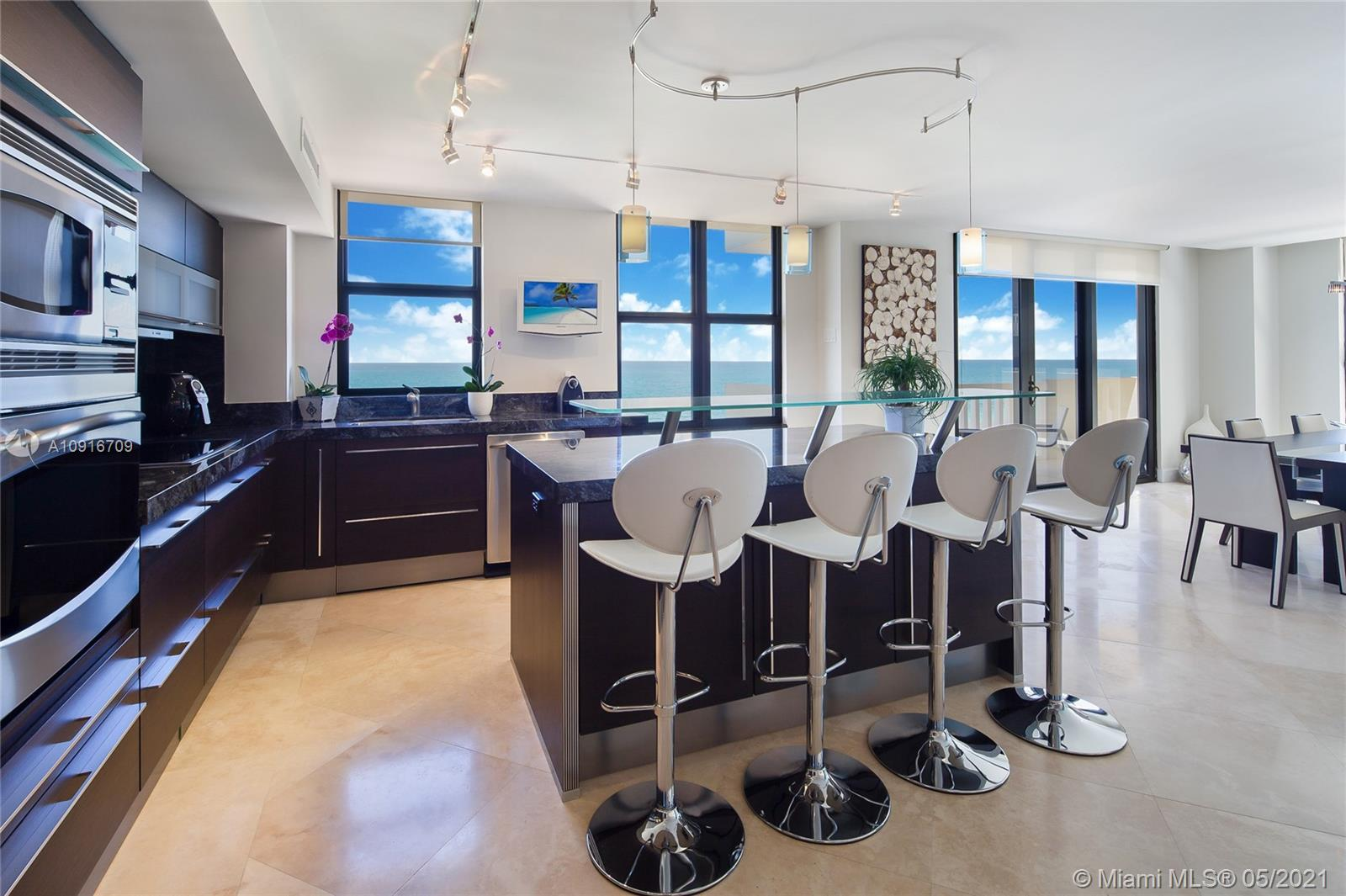 Photo of 9801 Collins Ave #11B Direct Ocean, Bal Harbour, Florida, 33154 - Living area