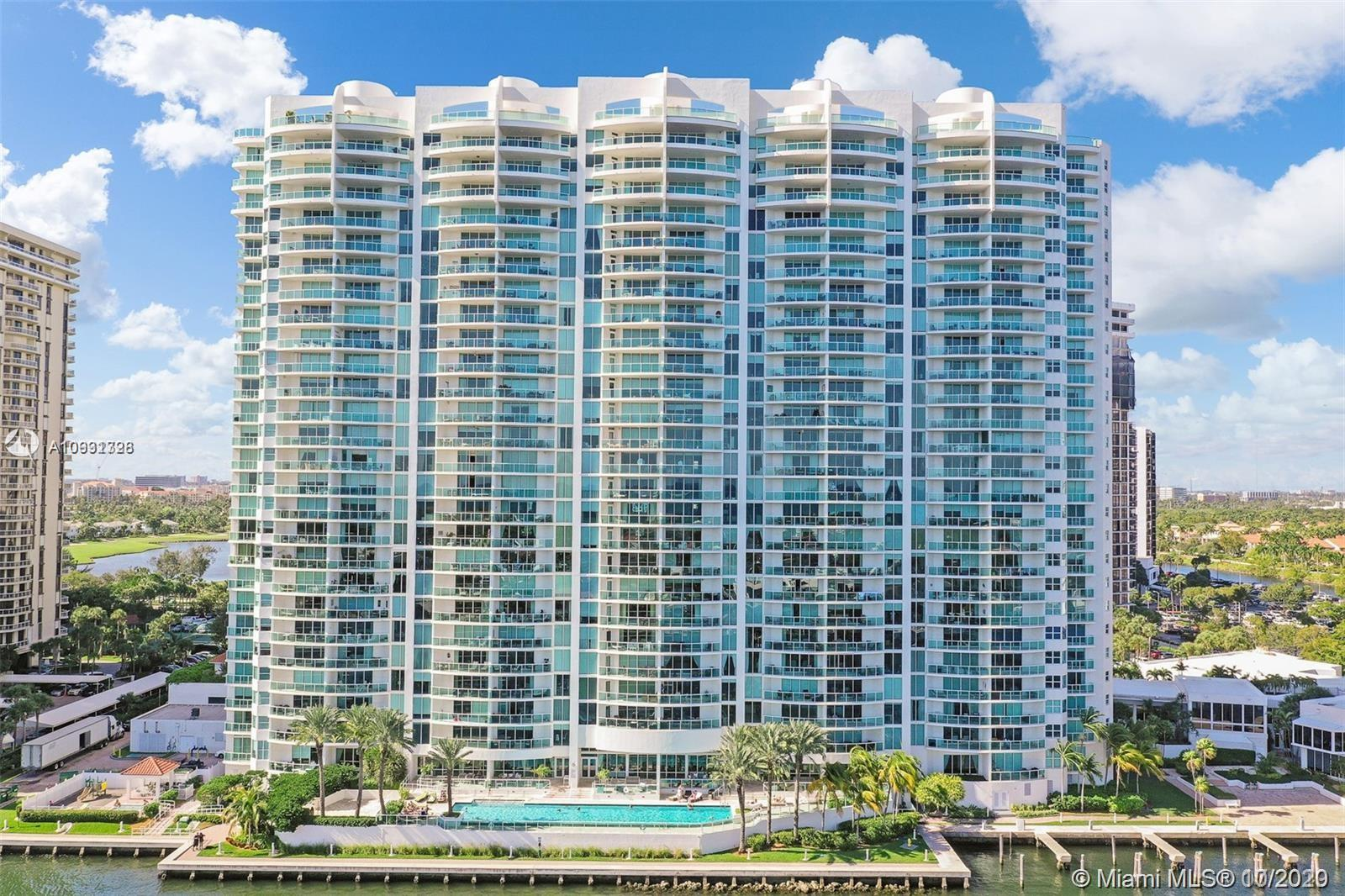 Photo of 20201 Country Club Dr #2407, Aventura, Florida, 33180 - Drone view of Hamptons South.