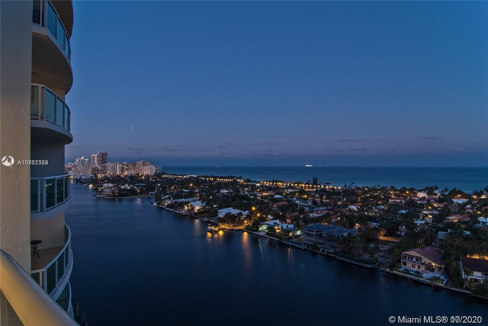 Photo of 20201 Country Club Dr #2407, Aventura, Florida, 33180 - Beautiful city and lake views from the bedrooms.