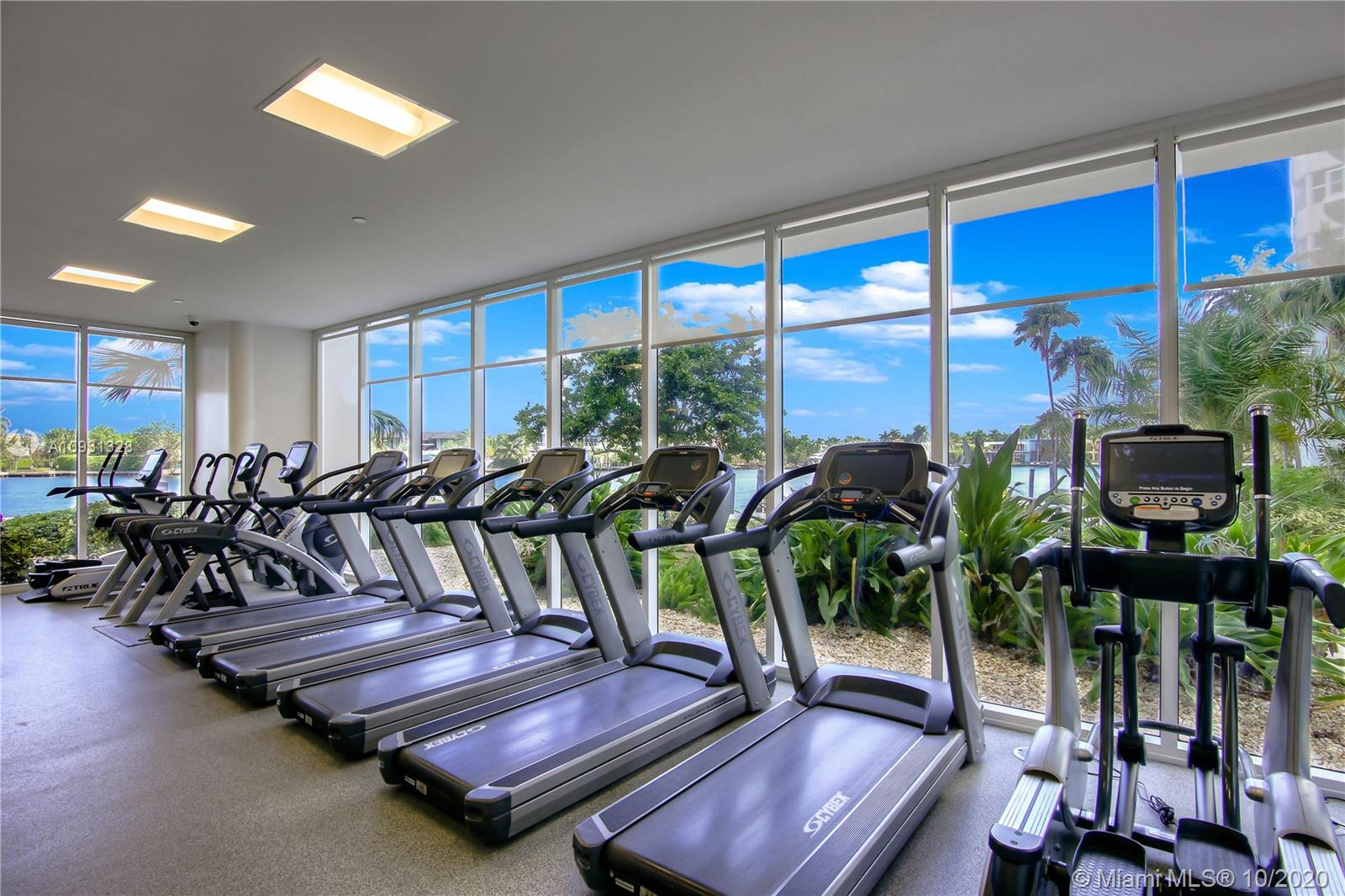 Photo of 20201 Country Club Dr #2407, Aventura, Florida, 33180 - Second gym with views of the Intracoastal.