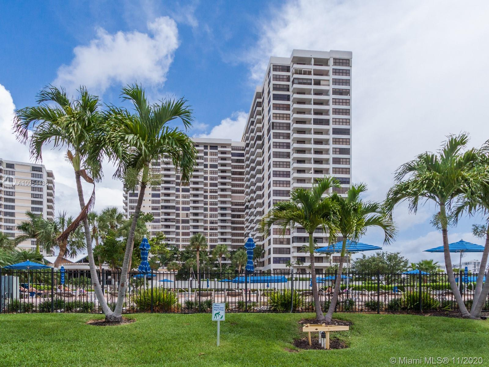 Photo of 2500 Parkview Dr #411, Hallandale Beach, Florida, 33009 - LUXURIOUS LOBBY WITH MARBLE FLOORS
