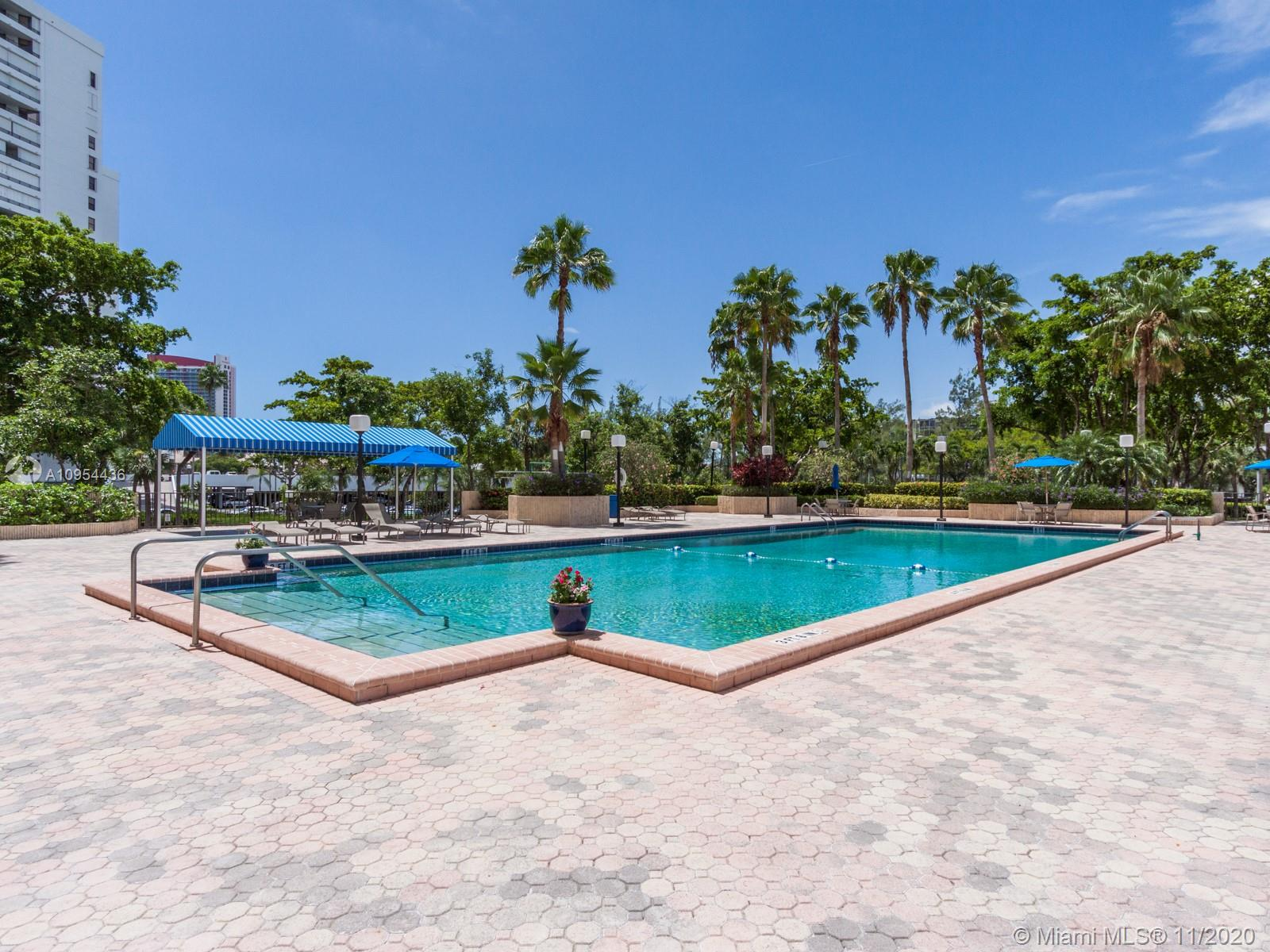 Photo of 2500 Parkview Dr #411, Hallandale Beach, Florida, 33009 - GARDEN POOL AREA