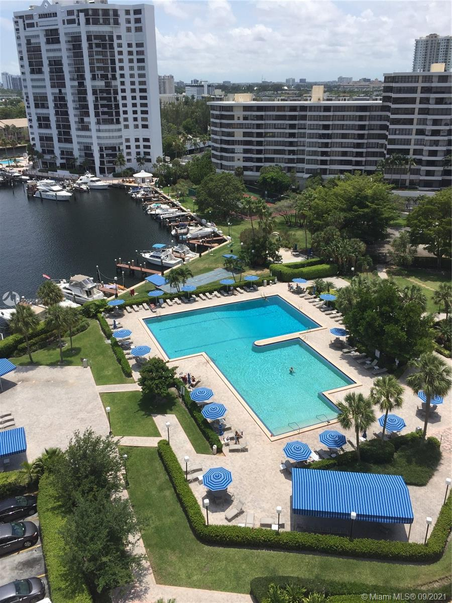 Photo of 600 Three Islands Blvd #1719, Hallandale Beach, Florida, 33009 - OLYMPUS POOL AREA, MARINA AND LANDSCAPED GARDENS.