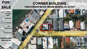 829 000$ - Miami-Dade County,Miami Beach; 3711 sq. ft.