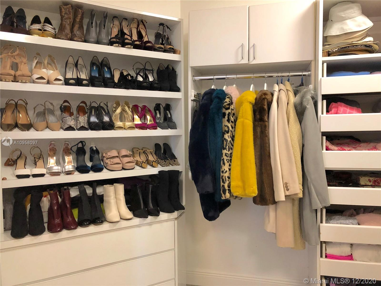 Photo of 3801 207th St #25BS, Aventura, Florida, 33180 - Her closet
