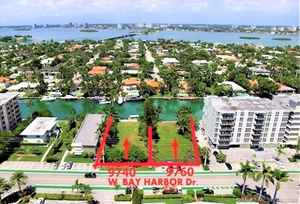 8 500 000$ - Miami-Dade County,Bay Harbor Islands; 22500 sq. ft.