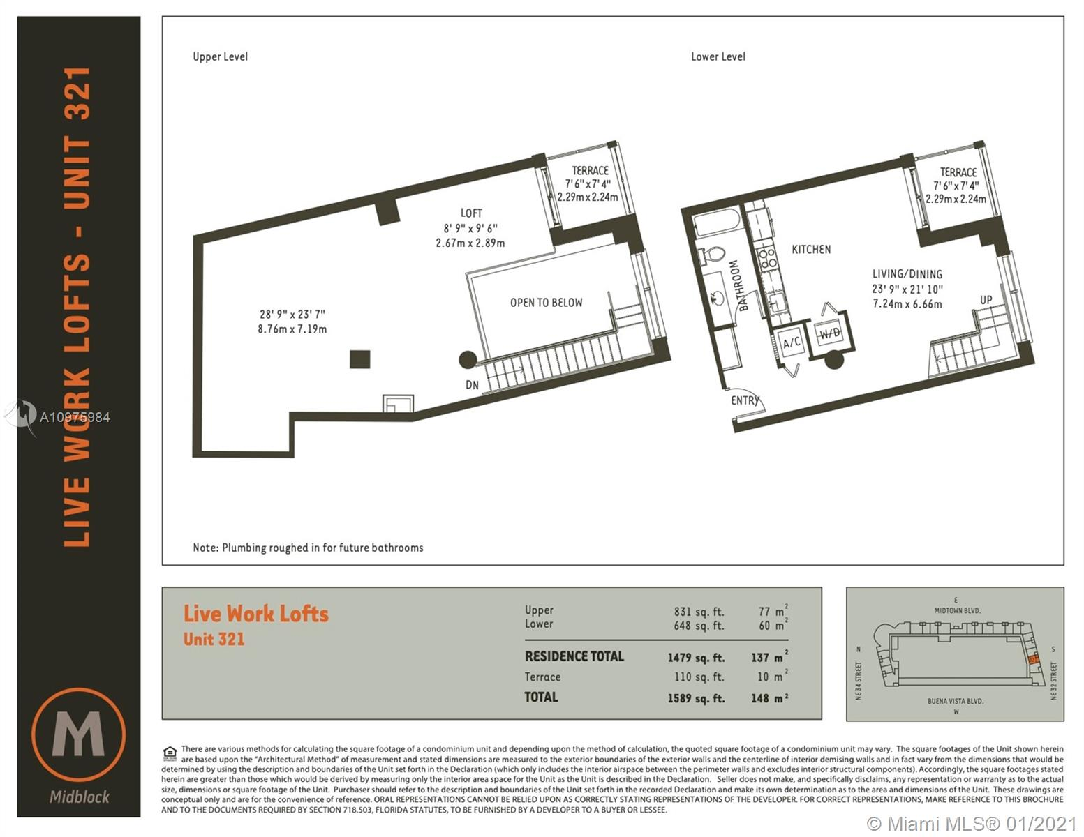 321  /   sq. ft. $ 2021-06-04 0 Photo