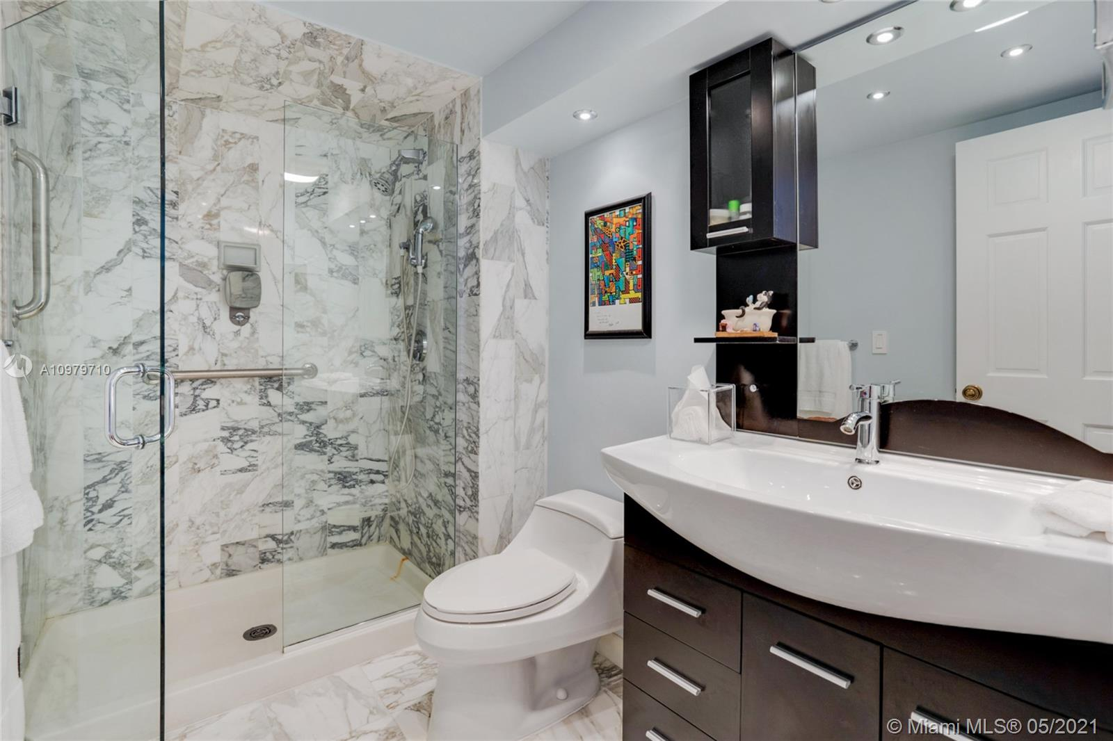 Photo of 9801 Collins Ave #10R, Bal Harbour, Florida, 33154 - Master Bath in suite