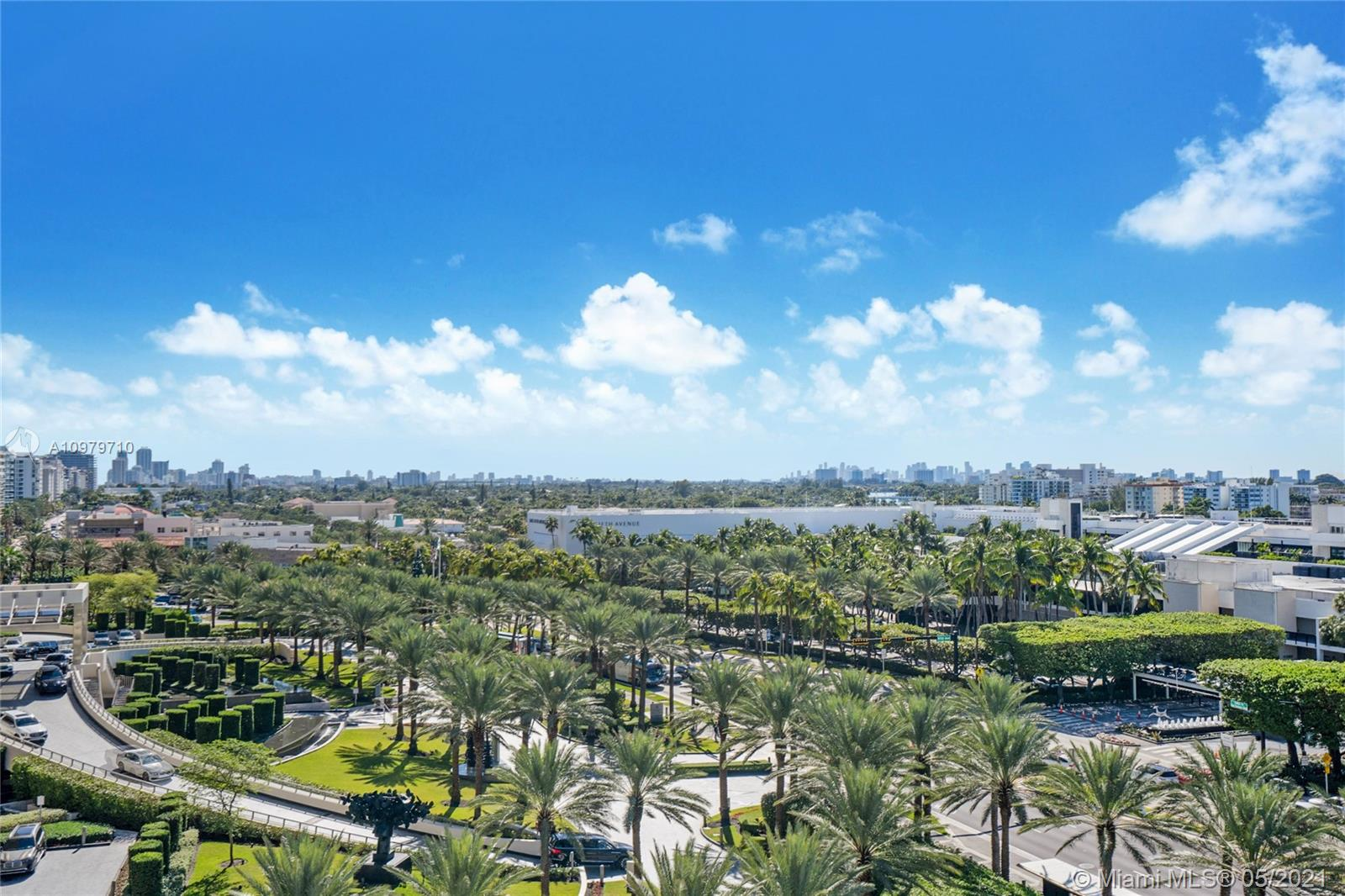 Photo of 9801 Collins Ave #10R, Bal Harbour, Florida, 33154 - City views from the balcony
