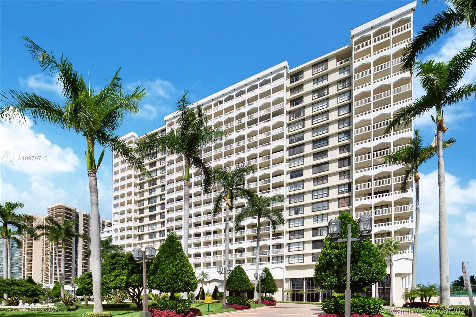 Photo of 9801 Collins Ave #10R, Bal Harbour, Florida, 33154 - Front exterior Balmoral