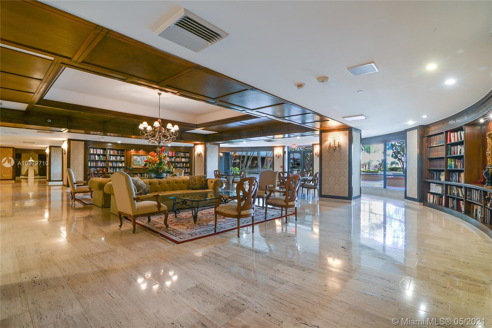 Photo of 9801 Collins Ave #10R, Bal Harbour, Florida, 33154 - Library